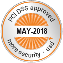 PCI DSS approved