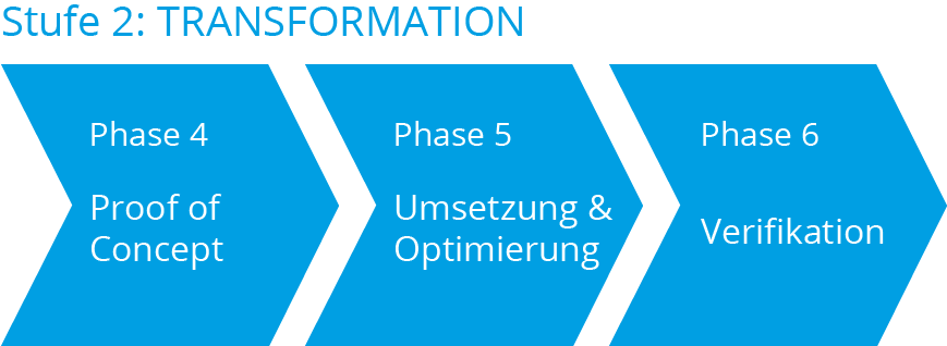 Digitalisierungsberatung Stufe 2: Transformation