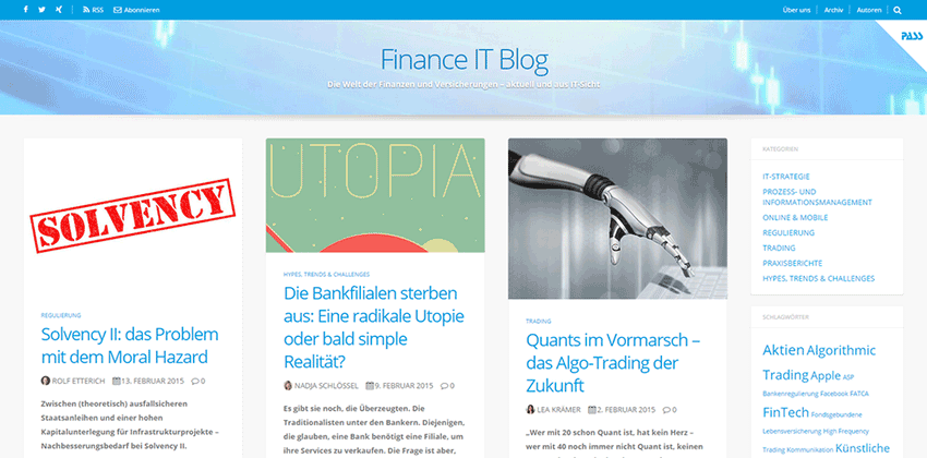 Finance IT Blog